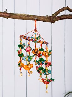 Bird Hanger with Bells