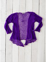 Bright Purple Shrug