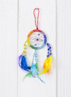 Extra Small Beaded Dreamcatcher