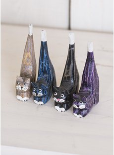 Four Small Mixed Colour Cats