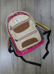 Gheri And Hemp Rucksack Double Zip
