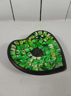 Green Heart Incense Holder