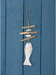 Hanging Driftwood Fish