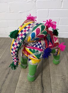 Large Fabric Elephant