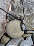 Oval Moonstone Necklace Image