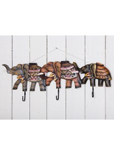 Painted Elephant Hanger