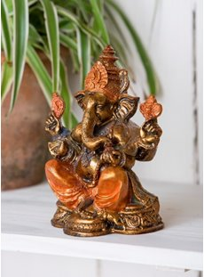 Painted Resin Ganesh
