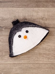 Penguin Felt Hat