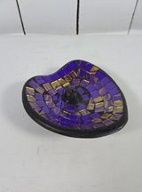 Purple Heart Incense Holder