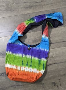 Rainbow Tie Dye Shoulder Bag