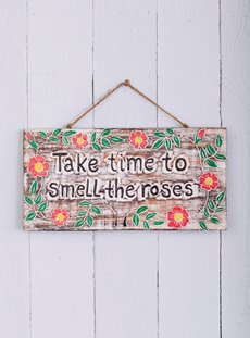 Roses Wall Sign