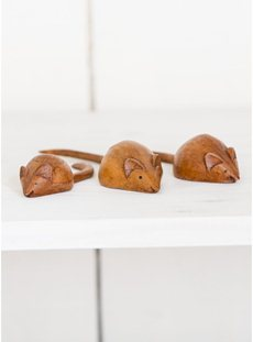 Set of Three Small Mice