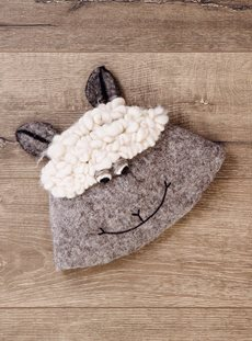 Sheep Felt Hat