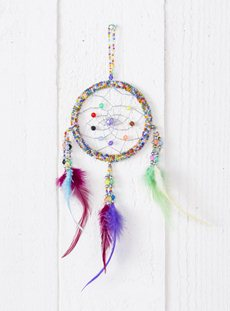 Small Beaded Dreamcatcher