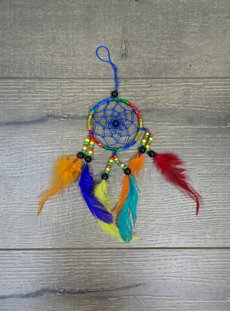 Small Rainbow Dreamcatcher