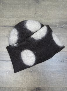 Spotted Felt Hat