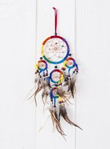 Suede Triple Dreamcatcher
