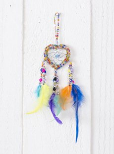 Tiny Rainbow Dreamcatcher