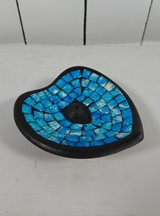 Turquoise Heart Incense Holder